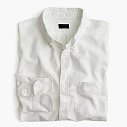 Tall vintage oxford shirt in white