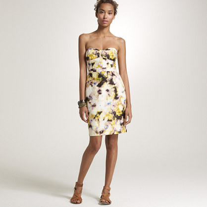 Fleurette bustier dress