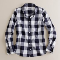 Giant gingham shirt