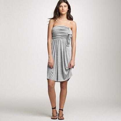Cascade ruffle dress