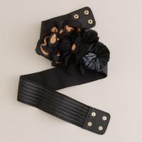 Elastic blossoms belt