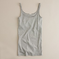 Perfect-fit tank with built-in bra