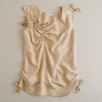 Silk cord cami