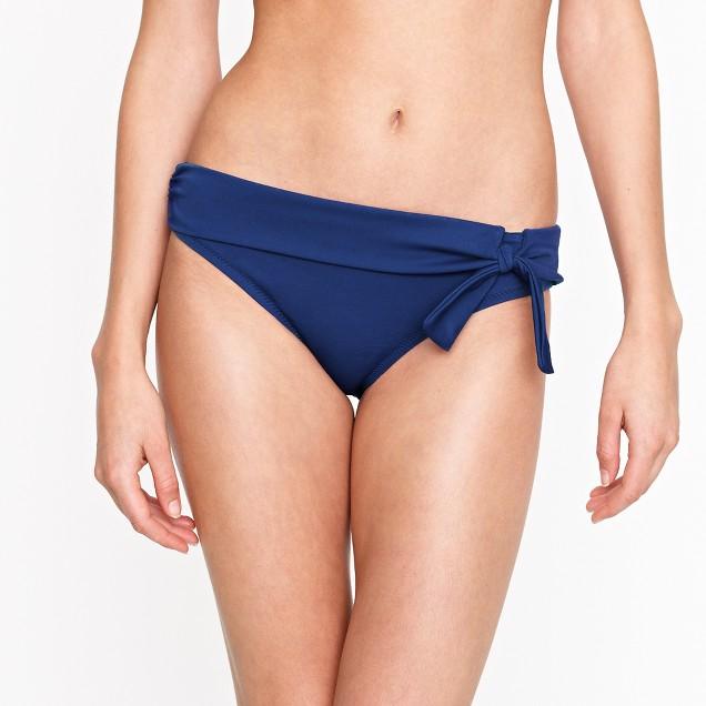 Belted bow bikini