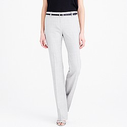 Petite 1035 trouser in Super 120s wool