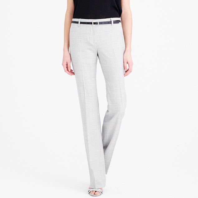 Tall 1035 trouser in Super 120s wool