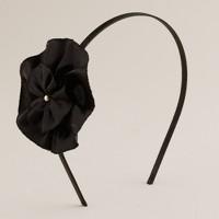 Flat flower headband