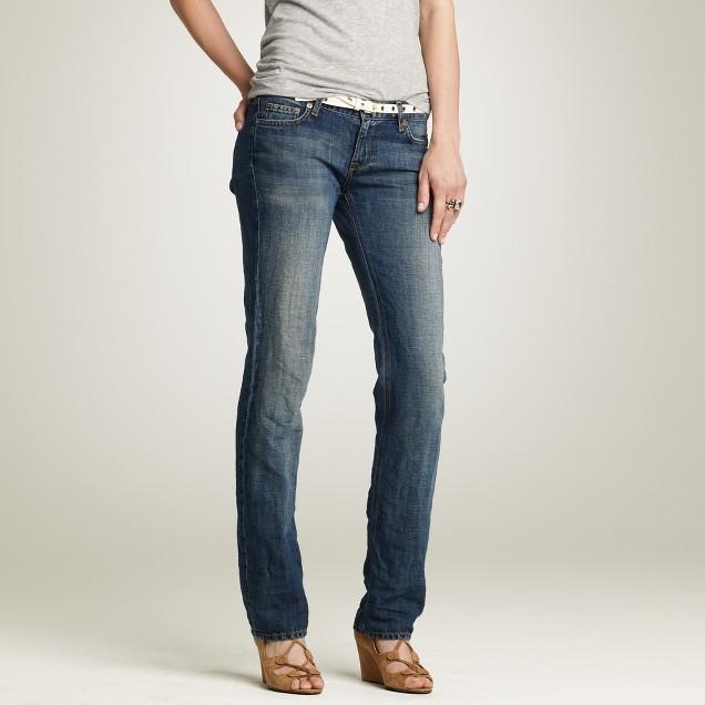 Straight-leg jean in sidecar wash