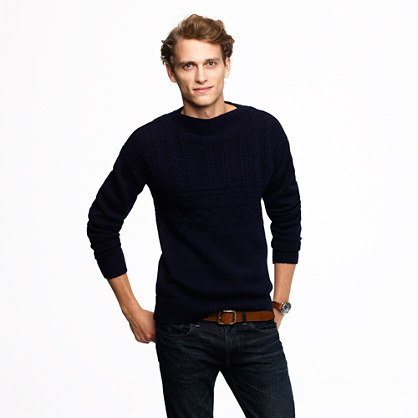 Wallace & Barnes fisherman rollneck™ sweater