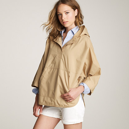 Hooded cotton slicker