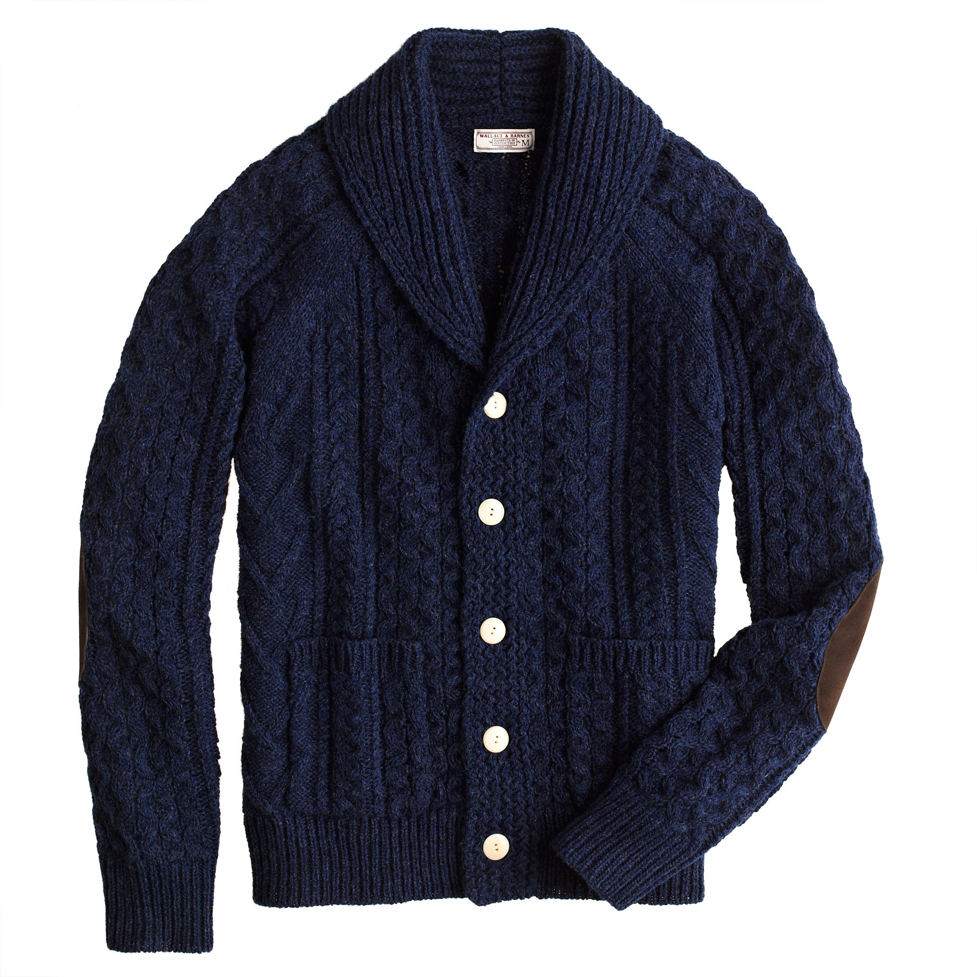 Wallace & Barnes Cable Cardigan :