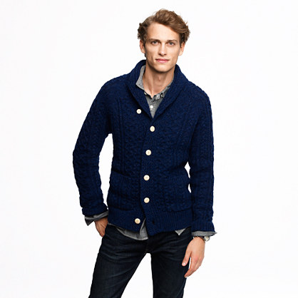 Wallace & Barnes cable cardigan