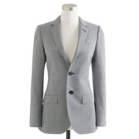 Collection women's Ludlow jacket in houndstooth Italian wool
