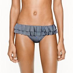 Jersey Lomellina® ruffle bikini