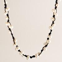 Pearl vine necklace