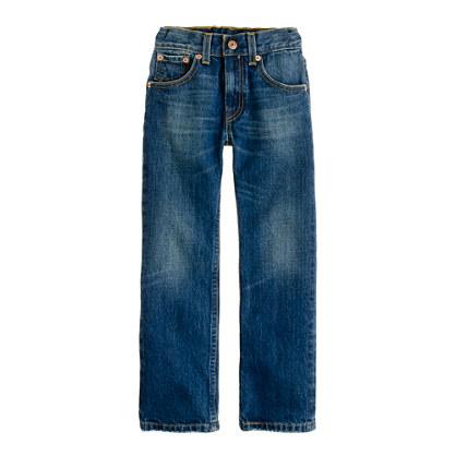 Boys' Levi's® 505® jean in worn true wash