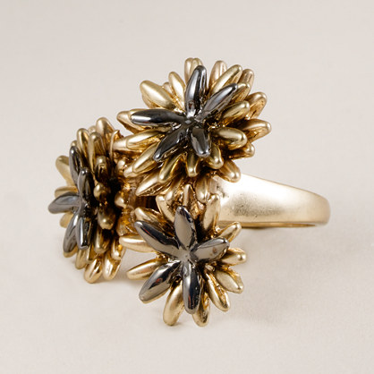 Dahlia cluster ring