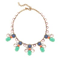 Mixed crystals necklace
