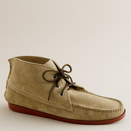 men's quoddy® suede chukka boots  casual boots  chukkas