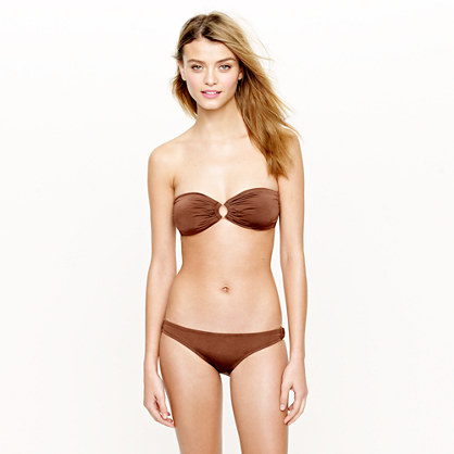 Jersey Lomellina® ring bandeau top