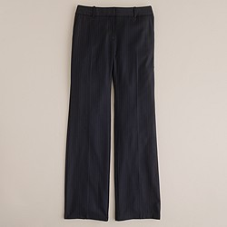 Petite 1035 trouser in pinstripe Super 120s wool