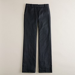 1035 trouser in pinstripe Super 120s wool