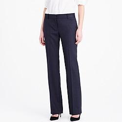 Petite 1035 trouser in pinstripe Super 120s wool