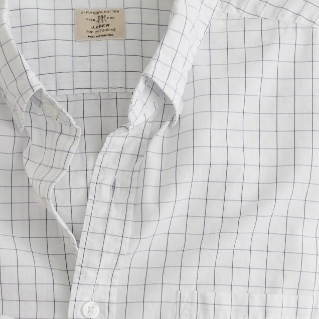 Secret Wash shirt in Abott tattersall