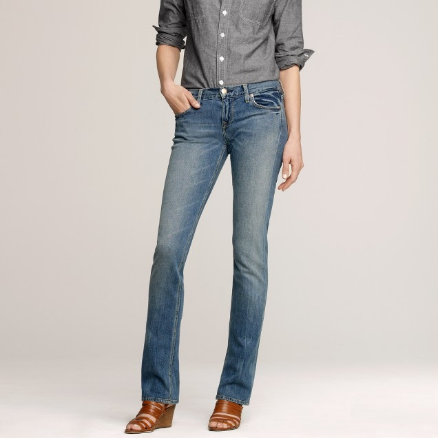 Matchstick jean in lived in wash