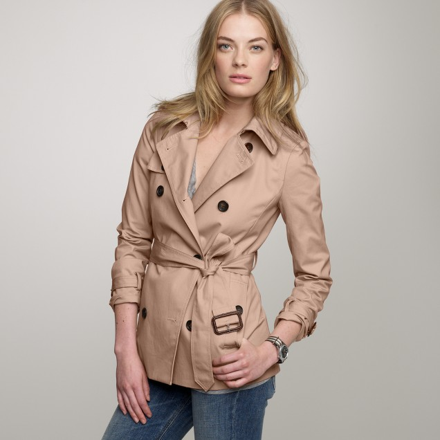 Short icon trench