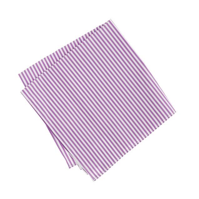 Thomas Mason® for J.Crew stripe pocket square