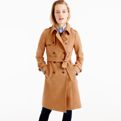 Petite Icon Trench Coat In Wool-Cashmere : Women's Coats & Jackets ...