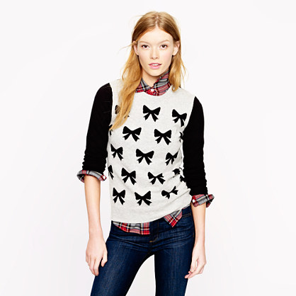 Take a bow sweater