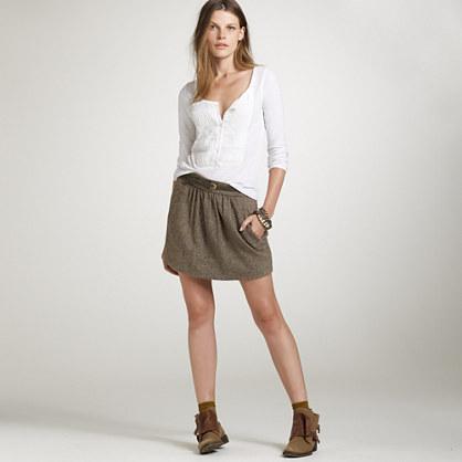 Donegal tweed Atlee skirt