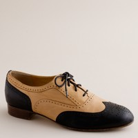 Camden two-tone brogues