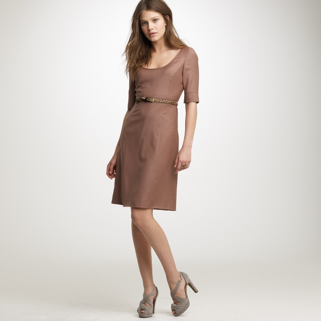 Caryn dress in Super 120s