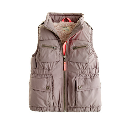 Girls' flight school vest