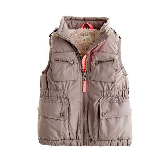Girls' flight school vest