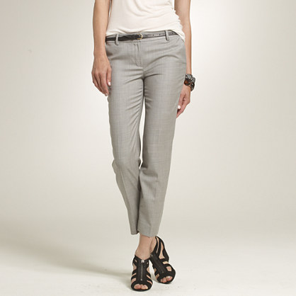 Super 120s cropped trouser in city fit