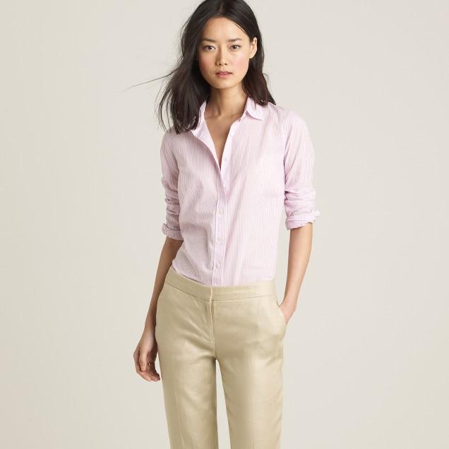 Perfect shirt in dock stripe