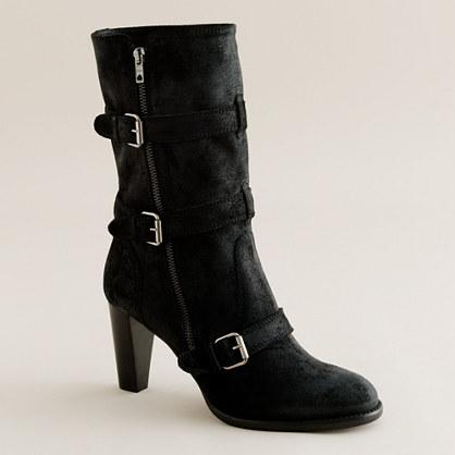 miller high heel motorcycle boots boots j crew