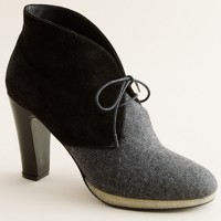 Flannery platform ankle boots