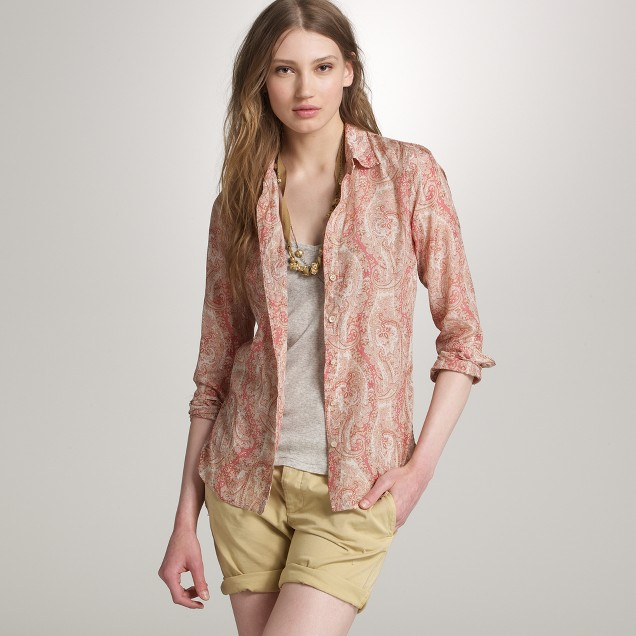 Pilar paisley perfect shirt