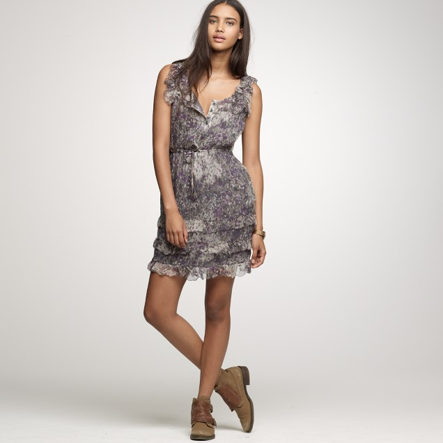 Silk chiffon Viviana dress