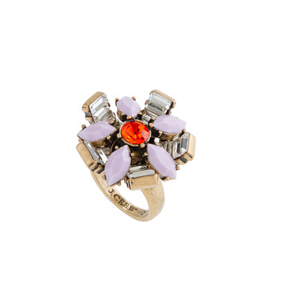 Geometric bouquet ring