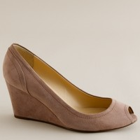 Mara suede wedges