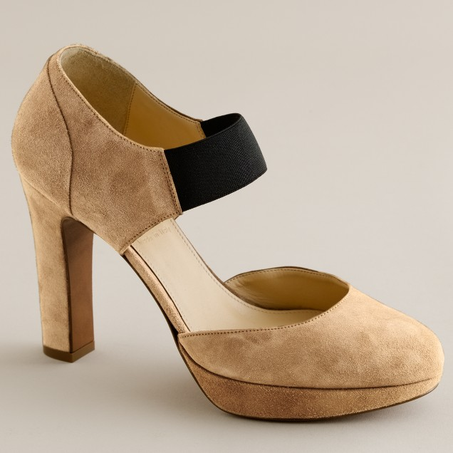 Jayne platform heels