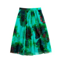 Collection skirt in hothouse floral