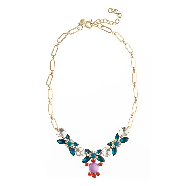 Crystal color necklace
