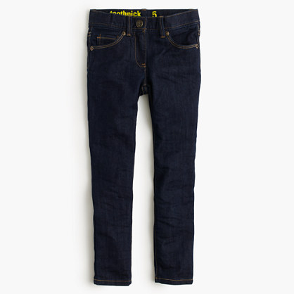 Girls' toothpick jean